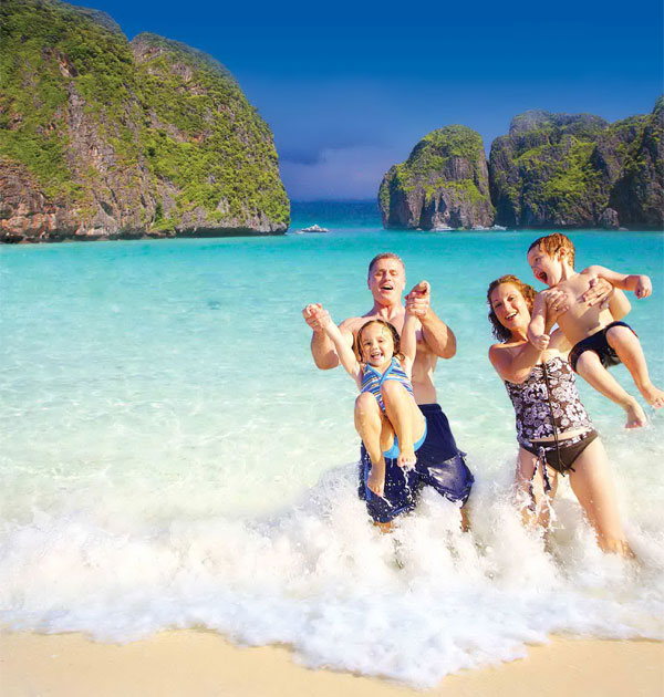 Phi Phi Islands - Maya Bay - Bamboo Island by Speedboat